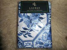 Ralph Lauren PALM HARBOR OCTAGONAL Blue/White King Pillowcases Pair Sealed