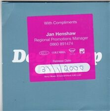 (FI603) Hepburn, Deep Deep Down - 1999 DJ CD