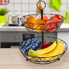 Sorbus 2-Tier Countertop Fruit Basket Stand