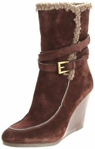 Joan & David Collection Florita Wedge Boot, Brown (Women)