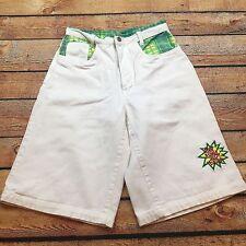 90s VTG GET USED BY ELIE JEANS Shorts Size 28 Patchwork HIP HOP BAGGY Urban