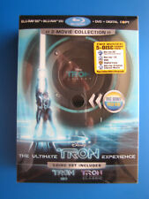 Disney The Ultimate Tron Legacy Experience (3D Blu-ray/Blu-ray/DVD, 5-Disc Set)