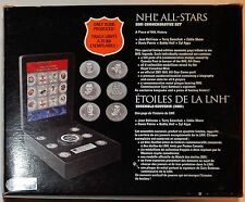 NHL ALL STAR 2001 SET*HOCKEY PUCK*MEDALLIONS*STAMPS*PLAQUE*NUMBERED*B HULL AUTO?