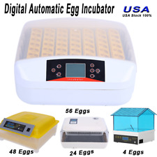 Digital Egg Incubator Automatic Hatcher Temperature Control Chicken Bird Duck Us