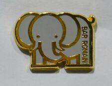 PINS BAR ROMAIN ELEPHANT GRIS CLAIR A. BERTRAND