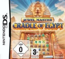 NINTENDO DS 3DS JEWELMASTER CRADLE OF EGYPT Neuwertig