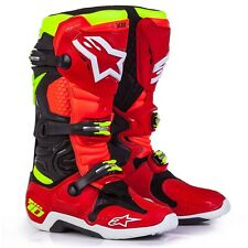 ALPINESTARS STIVALI BOOTS TECH 10 LIMITED EDITION 2017 TORCH ANAHEIM 2 ROSSI 43