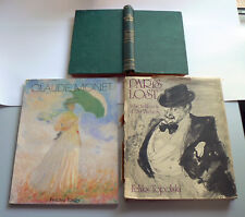Bulk Lot ART BOOKS Claude Monet Feliks Topolski Paris Lost Drawing Painting Oil