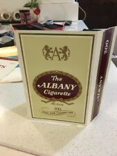 Great ALBANY Vintage CARDBOARD CIGARETTE ADVERTISING