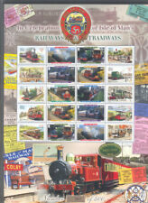 Isle of Man-Railways-Tramways limited printing(500)Special sheet mnh-no.341