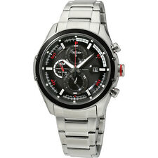 Citizen Eco-Drive Stainless Steel Black Dial Men's Watch CA0120-51E