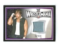 WWE Dean Ambrose 2015 Topps Road To WrestleMania 31 Event Used Mat Relic Card DW