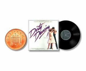 MINIATURE  Non Playable 1/12th  RECORD ALBUM LP - DIRTY DANCING - SWAYZE