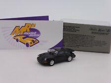 """Minichamps 870069104 # Porsche 911 (964) Turbo Baujahr 1990 """" schwarz """" 1:87"""
