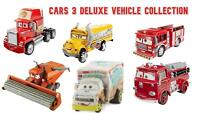 Cars 3 Deluxe Vehicle Disney Pixar Collectables - Collect Your Favourites!