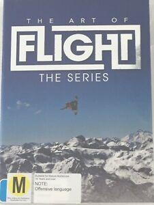 THE ART OF FLIGHT The Series DVD Region 4 PAL