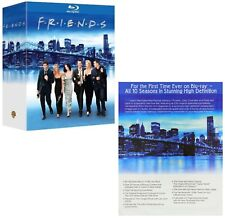 FRIENDS 1-10 (1994-2004):  COMPLETE CLASSIC COMEDY TV Seasons Series NEW BLU-RAY