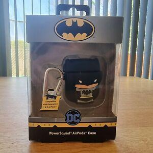 Power Squad DC Universe Batman Apple Airpods earphones case Generation 1&2 New