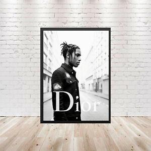 """ASAP poster wall art decor photo print 16/"""",20/"""",24/"""" sizes A$AP Rocky Long Live"""
