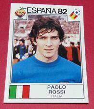 141 PAOLO ROSSI ITALIA ESPANA 82 FOOTBALL PANINI WORLD CUP STORY 1990 SONRIC'S