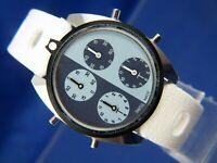 Zeno Tennis Watch . Swiss Mechanical Scorer Score Keeper . Vintage NOS 1970