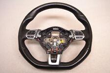MK6 VW GTI Steering Wheel 6 Sped Manual Multi Function Flat Bottom Oem 2010-2014