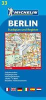 Berlin Plan: Stadtplan und Register (Michelin City Plans) by Michelin | Map Book