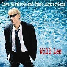 Will Lee (Bass) cd Love, Gratitude & Other Distractions JAPAN MINT 2013 KICJ 656