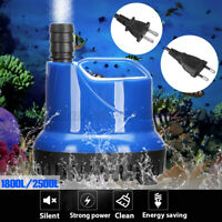 25W/35W Aquarium Submersible Water Pump Fish Tank Hydroponic Fountain Pond ☜ Z̶