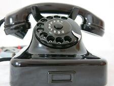 Modell 36 Telefon w48 Telephone Siemens&Halske 1942 Bakelit Antik 100%Funktion