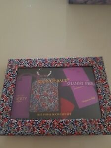 Gianni Feraud For Liberty Key Fob & Socks Gift Set