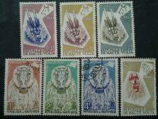 Collection Of  Republique De Haute.Volta - 7v  Mint & Used