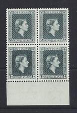 NOUVELLE-ZÉLANDE 1963 OFFICIEL bloc de 4 Non montés excellent état SG O167