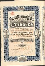 DECO => Trust Franco-Belge des PETROLES (BELGIQUE FRANCE) (R)
