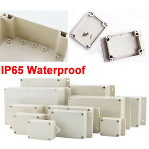 IP65 Waterproof Electronic Project Junction Box Enclosure ABS Plastic Case Box