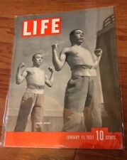 Life Magazine January 11,1937 Japanese Soldiers,Birth Control,Winslow Homer