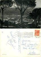 Cartolina di Fabriano, panorama - Ancona, 1957