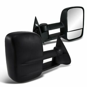 Power Heat Tow Mirrors Pair For 99 00 01 02 Silverado/Sierra 1500/2500 HD/3500