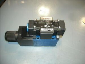 D62/EW110NDAL/B10/62 Rexroth Valve R978904460, Good Used