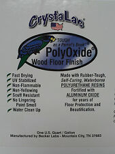 CrystaLac PolyOxide Gloss Floor & Furniture Finish UV Stabilized 5 Gal Pail