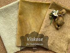 Viskose für Teddybären, Helmbold V10-12, Webpelz, Fell, Kunstfell, Stoff, Mohair