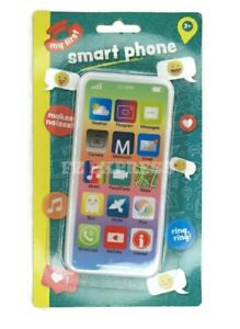 Mobile Phone Educational Learning Kids Toy iPhone Musical Sound Light Sparkle
