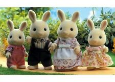 Sylvanian Families - Milk Rabbit Family NEW * toy miniature