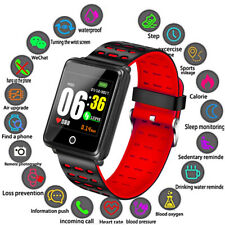 Waterproof Wireless Smart Watch Heart Rate Monitor Fitness Tracker Wristband