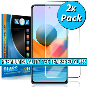 For Xiaomi Redmi Note 10 5G/ Pro / Pro Max Clear Tempered Glass Screen Protector