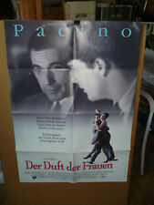 SCENT OF A WOMAN, orig German poster [Al Pacino, Chris O'Donnell] - 1993