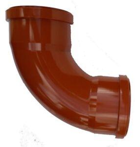 Underground Drainage 110mm Double Socket 90° Bend