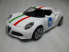 Siku Alfa Romeo 4C Bornelund 2014 Exclusive Diecast Model Rare Promo Promo