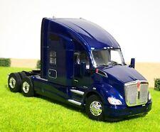 WSI TRUCK MODELS,KENWORTH T680 6x4 DARK BLUE, SINGLE TRUCK,1:50