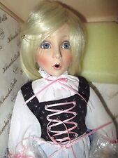 "Knowles ""Rapunzel"" porcelain doll *NIB *COA * artist Dianna Effner"